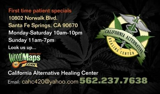 California Alternative Healing Center (CAHC)